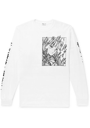 + Video Girl Printed Cotton-jersey T-shirt