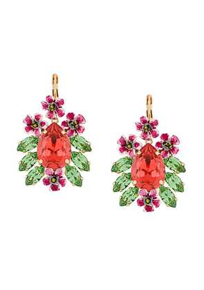 Dolce & Gabbana Fiori earrings - Red