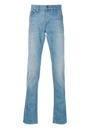 J Brand distressed slim-fit jeans - Blue