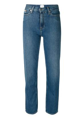 Ck Jeans fitted straight leg jeans - Blue