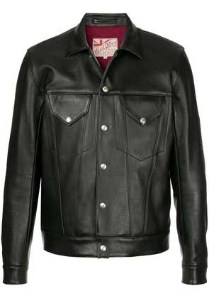 Addict Clothes Japan Granada leather jacket - Black