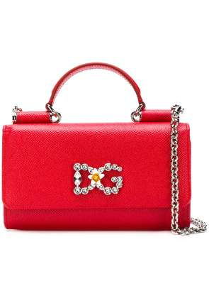 Dolce & Gabbana Sicily Von mini tote bag - Red
