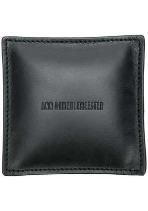 Ann Demeulemeester embossed logo paper weight - Black