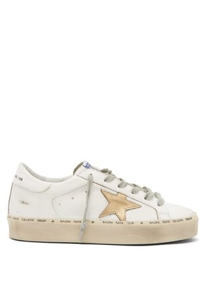 Hi Star low-top leather trainers