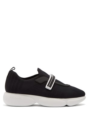 Cloudbust low-top stretch-mesh trainers