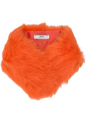Desa 1972 fur scarf - Orange