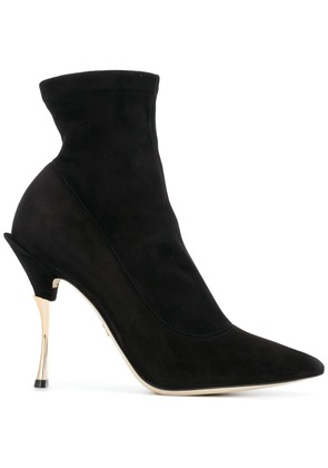 Dolce & Gabbana pointed ankle boots - Black