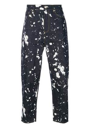3.1 Phillip Lim paint splatter jeans - Blue