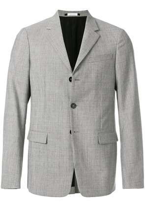 Jil Sander single breasted blazer - Grey
