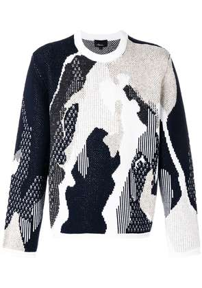 3.1 Phillip Lim abstract knit jumper - Multicolour