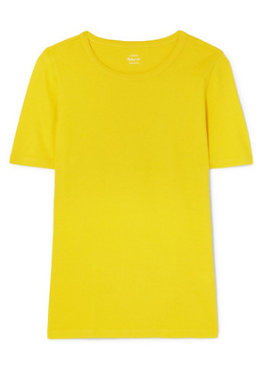 J.Crew - The Perfect Fit Cotton-jersey T-shirt - Yellow