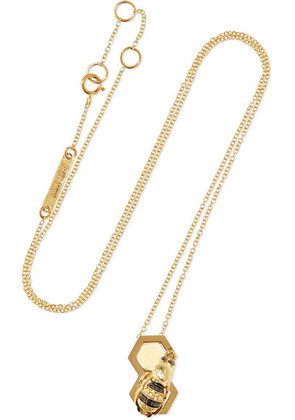 Delfina Delettrez - 9-karat Gold Multi-stone Necklace - one size
