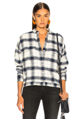 AG Adriano Goldschmied Smith Shirt Jacket in Blue
