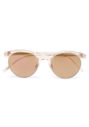 Oliver Peoples Woman D-frame Acetate And Gold-tone Sunglasses Gold Size -