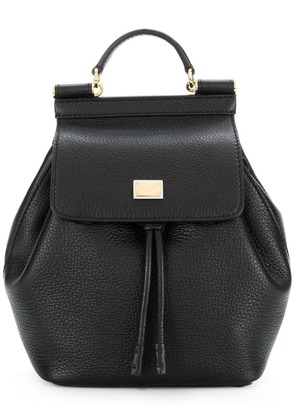 Dolce & Gabbana Sicily soft backpack - Black