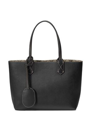 Gucci Reversible GG leather tote - Brown