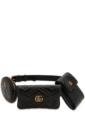 GG MARMONT LEATHER BELT PACK