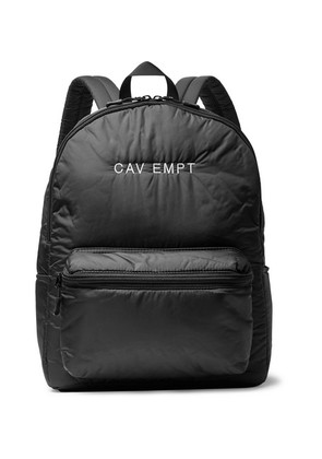 Logo-embroidered Shell Backpack