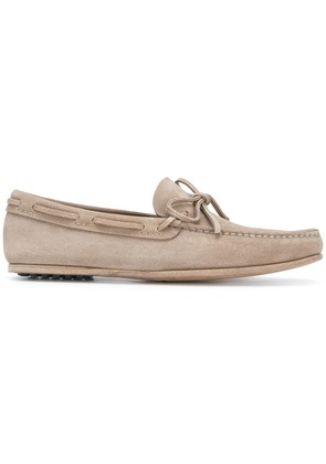 Car Shoe moccasin loafers - Brown