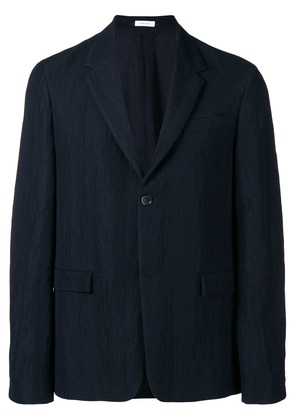 Jil Sander perfectly fitted jacket - Blue