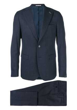 Paoloni two-piece slim fit suit - Blue
