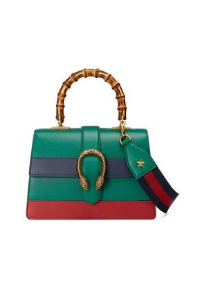 Gucci Dionysus leather top handle bag - Green