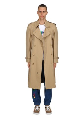 WESTMINSTER RAINBOW CHECK TRENCH COAT