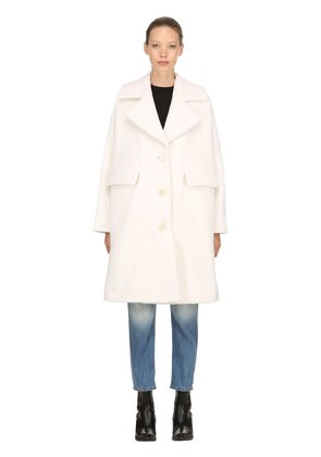 FENN OVERSIZED WOOL BLEND COAT
