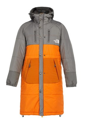 X The North Face sleeping bag padded coat
