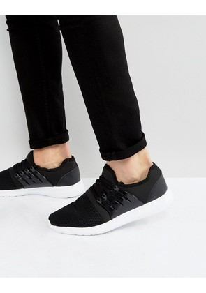 Brave Soul Wolf Trainers - Black