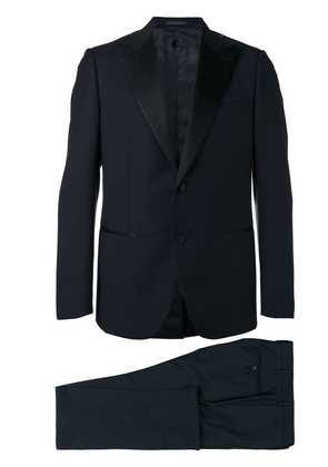 Caruso two piece dinner suit - Blue