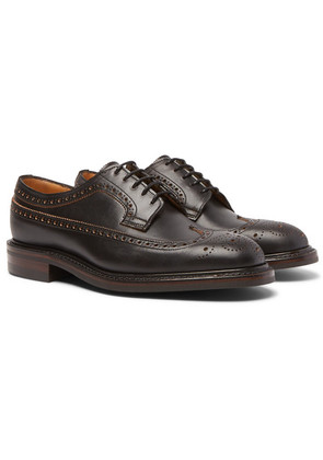 Cheaney - Addison Leather Wingtip Brogues - Brown