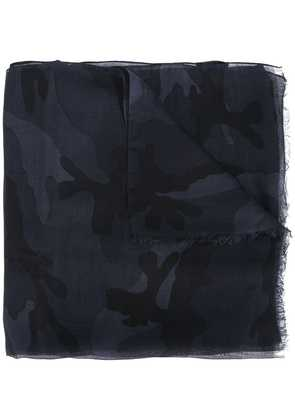 Valentino camouflage scarf - Grey