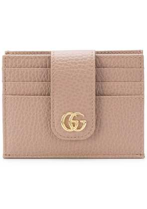 Gucci GG Marmont cardholder - Nude & Neutrals