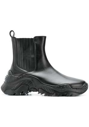 No21 chunky sole ankle boots - Black