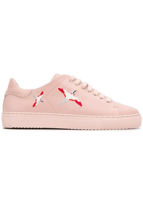 Axel Arigato bird embroidered sneakers - Pink