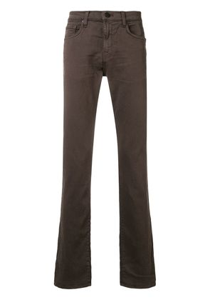 J Brand slim-fit jeans - Brown