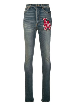 Gucci high-waisted skinny jeans - Blue