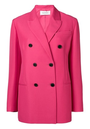 Valentino double breasted tailored blazer - Pink