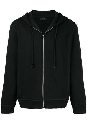 Joseph lightweight hooded jacket - Black