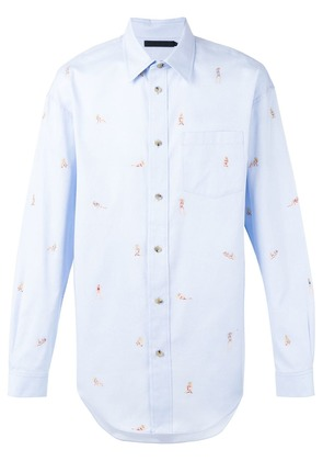 Alexander Wang printed shirt - Blue
