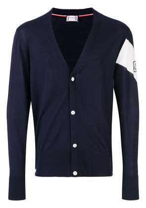 Moncler knitted cardigan - Blue