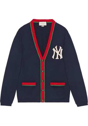 Gucci Cardigan with NY Yankees™ patch - Blue