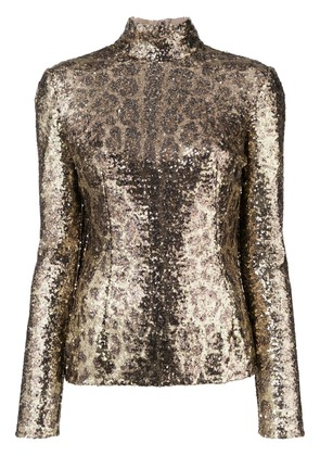 Dolce & Gabbana sequin embellished top - Yellow