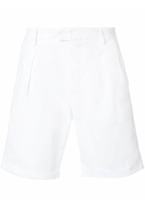 Dondup pleated deck shorts - White