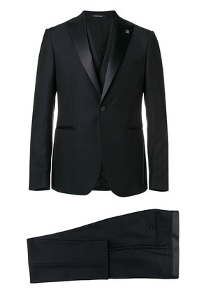 Tagliatore three piece tuxedo suit - Blue