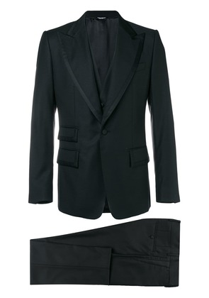Dolce & Gabbana three-piece suit - Black