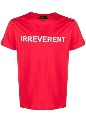 No21 Irreverent T-shirt - Red