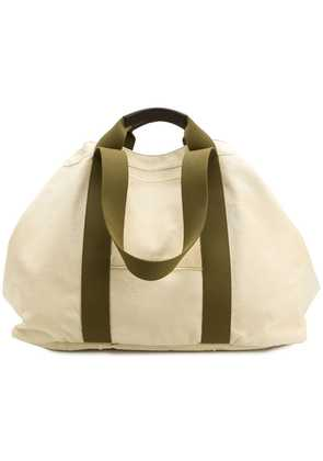 Holland & Holland oversized weekend holdall - Nude & Neutrals