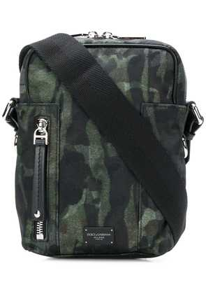 Dolce & Gabbana camouflage shoulder bag - Green